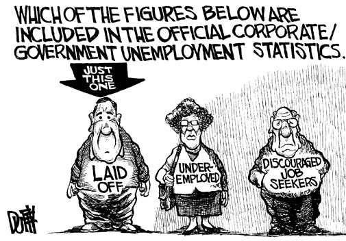 Image result for economic stagnation cartoon