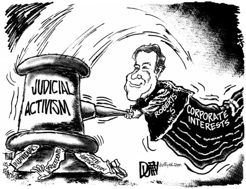 Judicial Activism And Filibuster >> Judicial Branch Political Cartoons