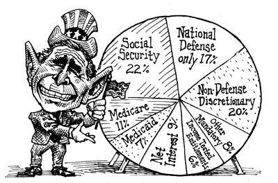 Hightower Lowdown Bush S Military Budget Costs Us Our Future